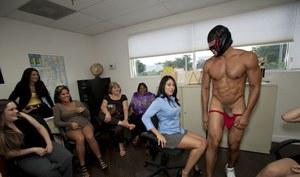 Russian nude in public