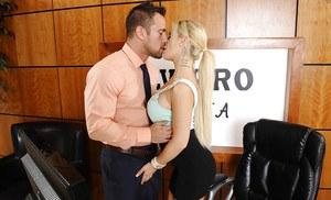 Blonde wife blowjob pov