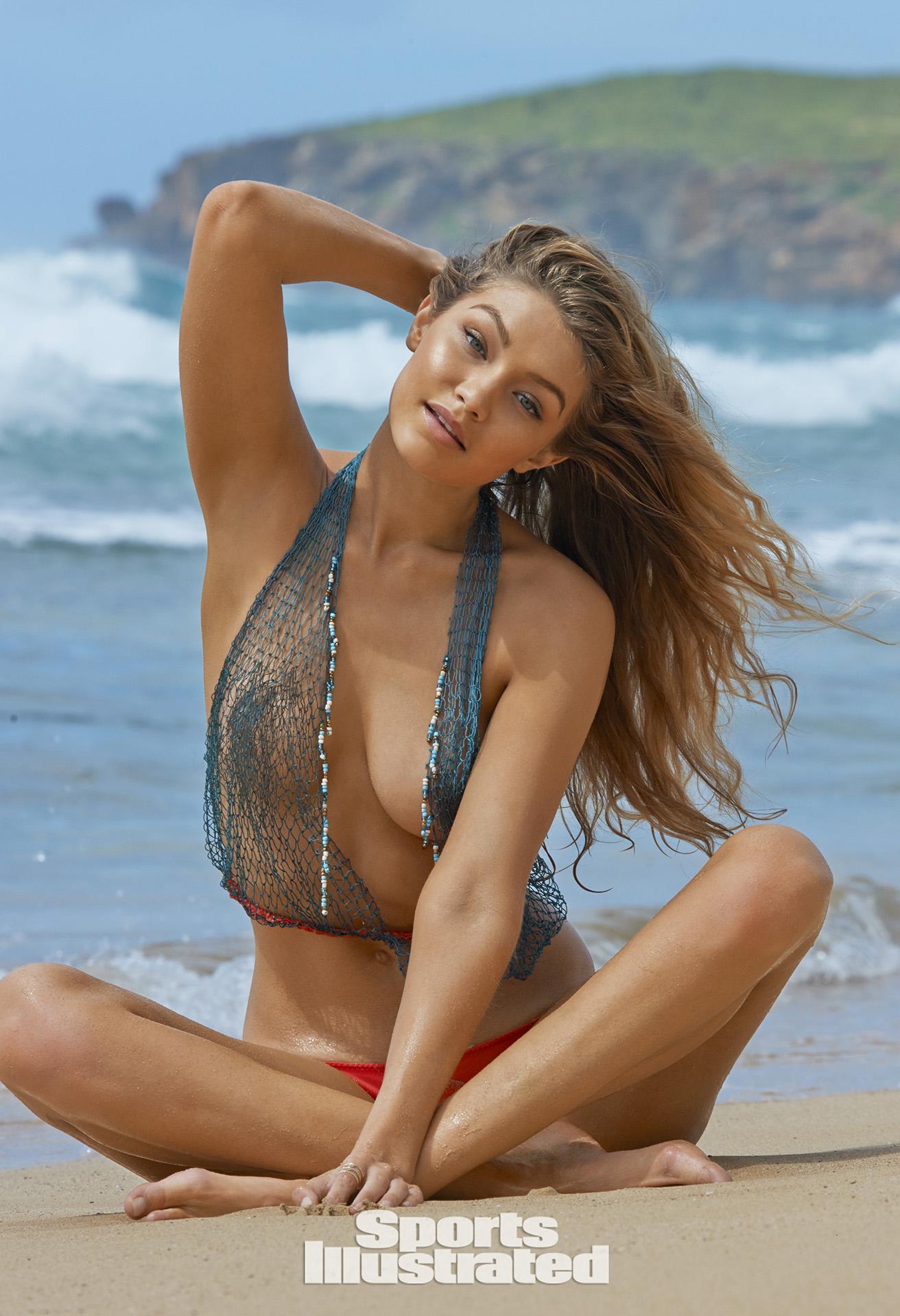 Gigi hadid sports illustrated swimsuit