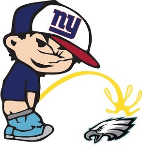 Giants peeing on patriots helmet cartoon