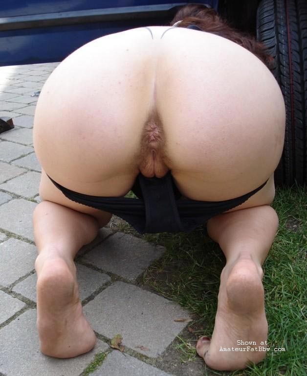 Amateur big ass and pussy