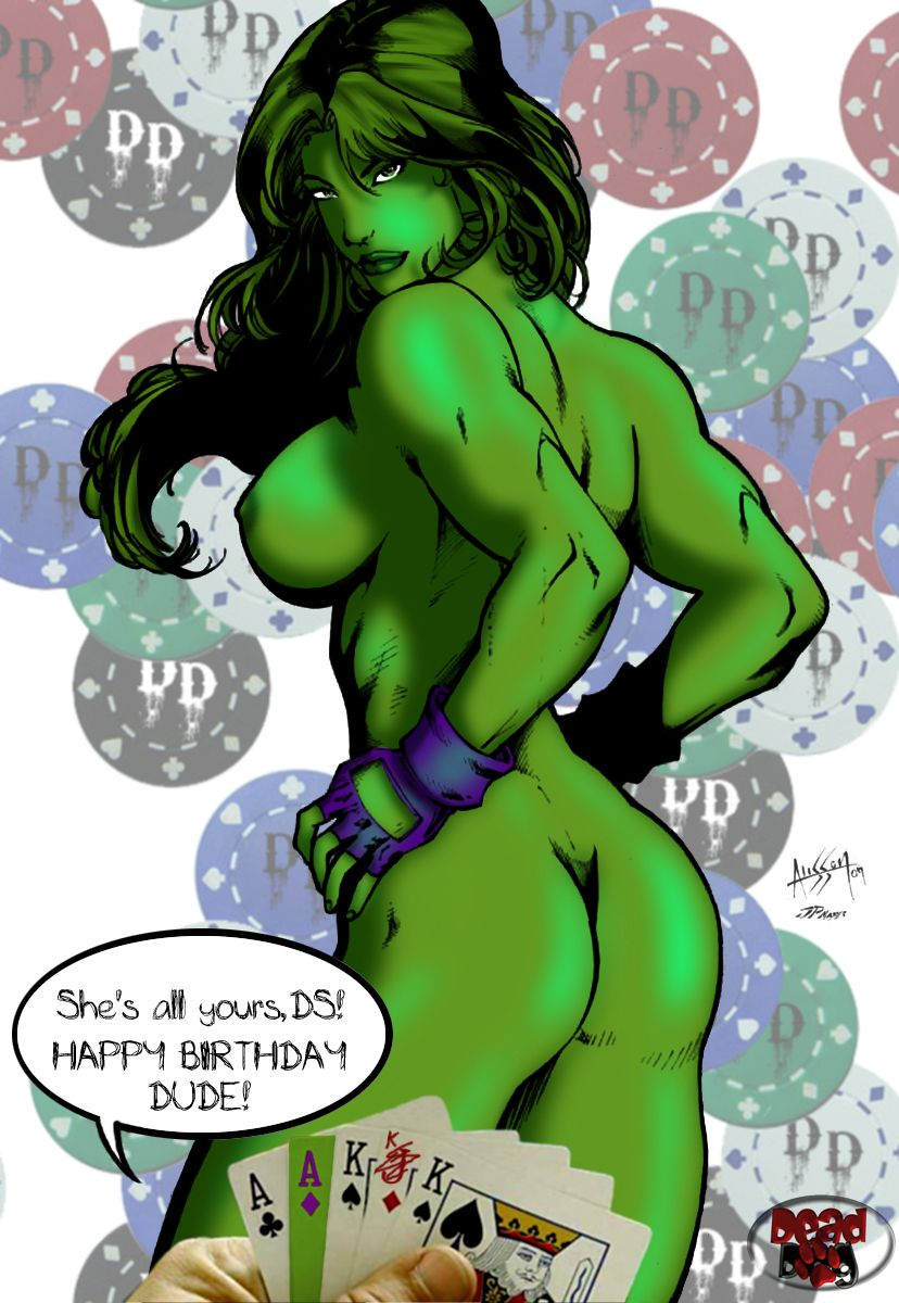 Marvel she hulk porn cartoon