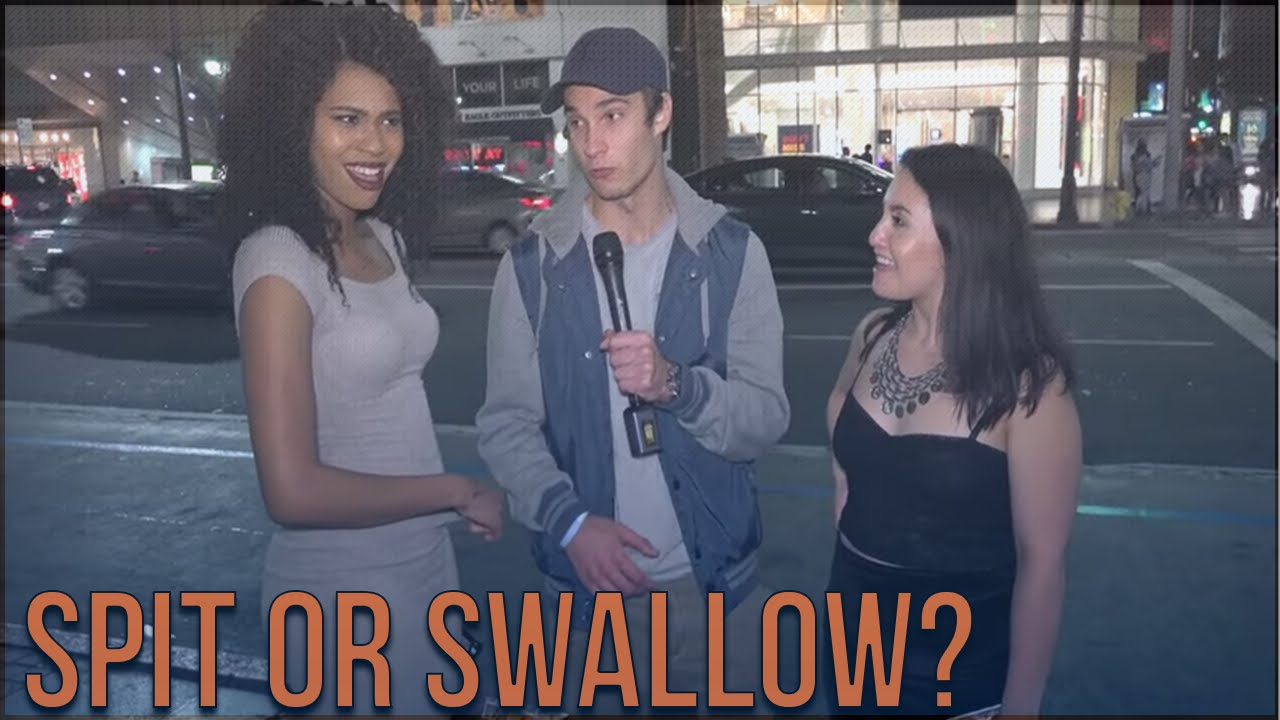 Girls spit or swallow