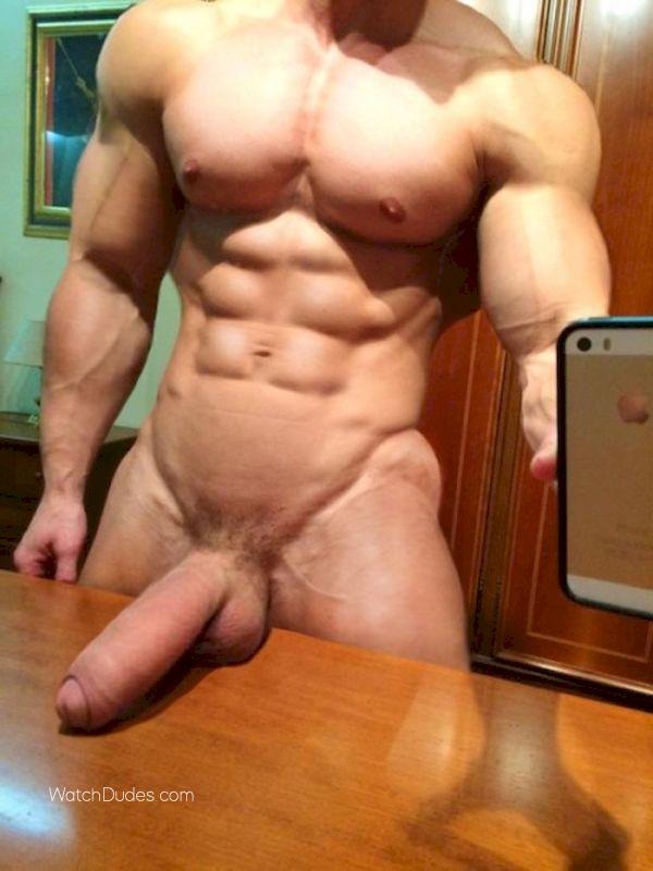 Big cock naked man