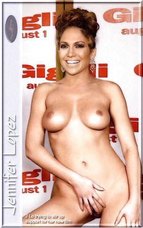 Jennifer lopez fakes nude