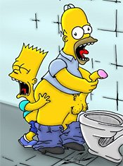 Simpsons homer bart porn