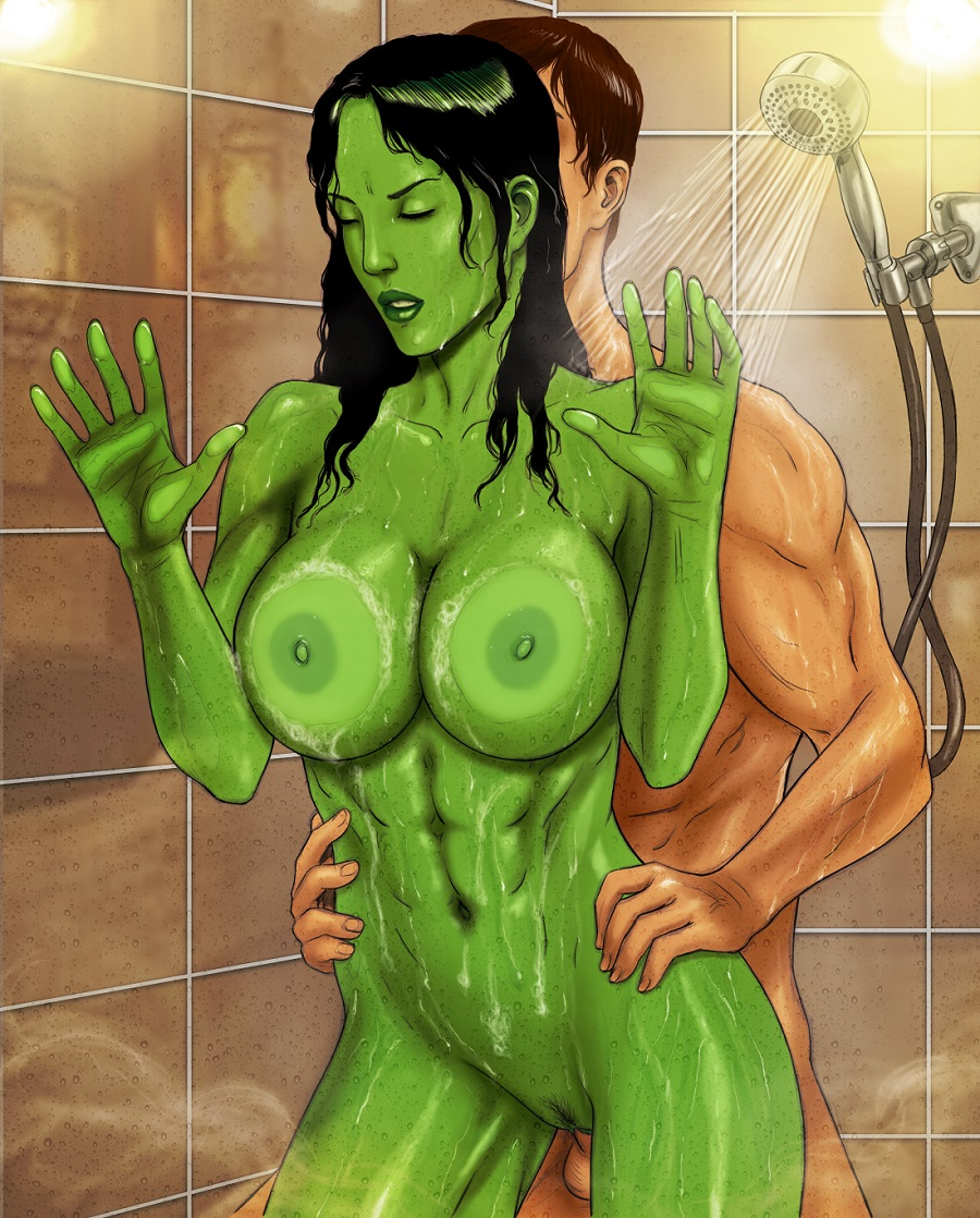 Marvel she hulk porn cartoon