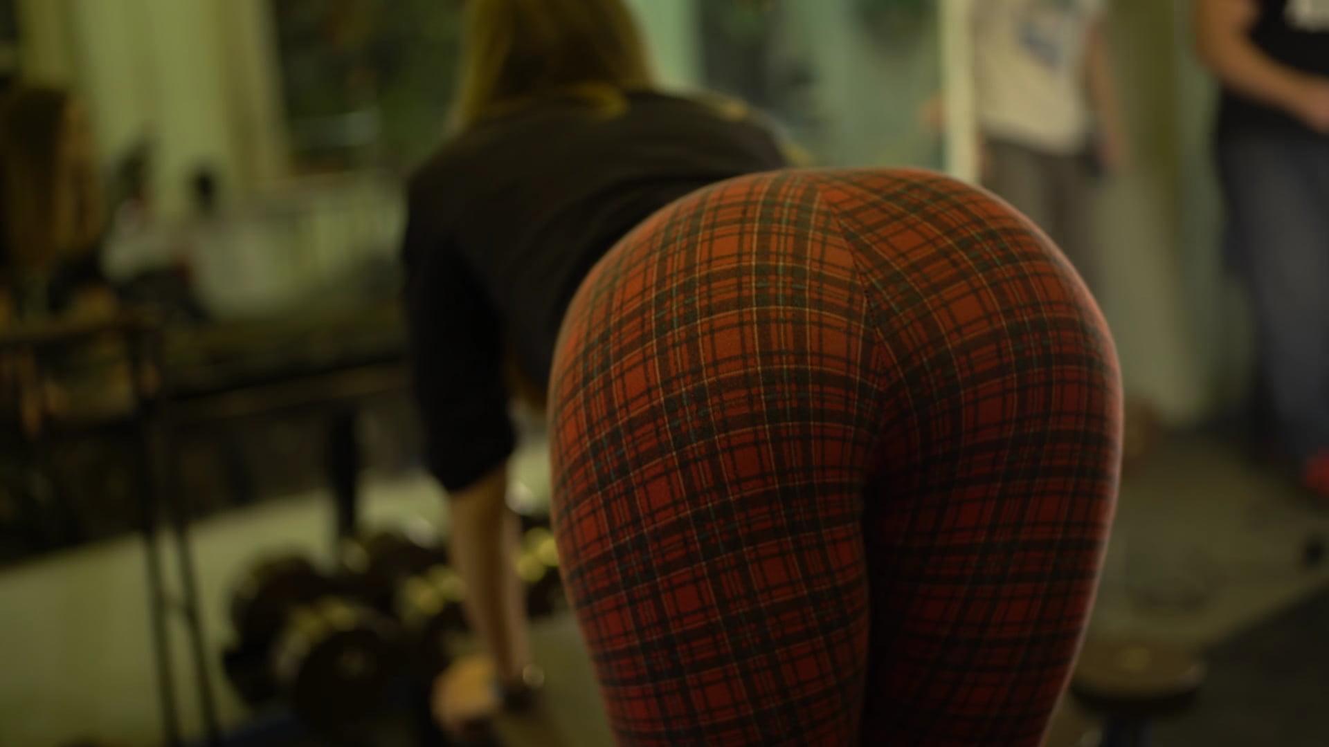 Skinny ass bent over