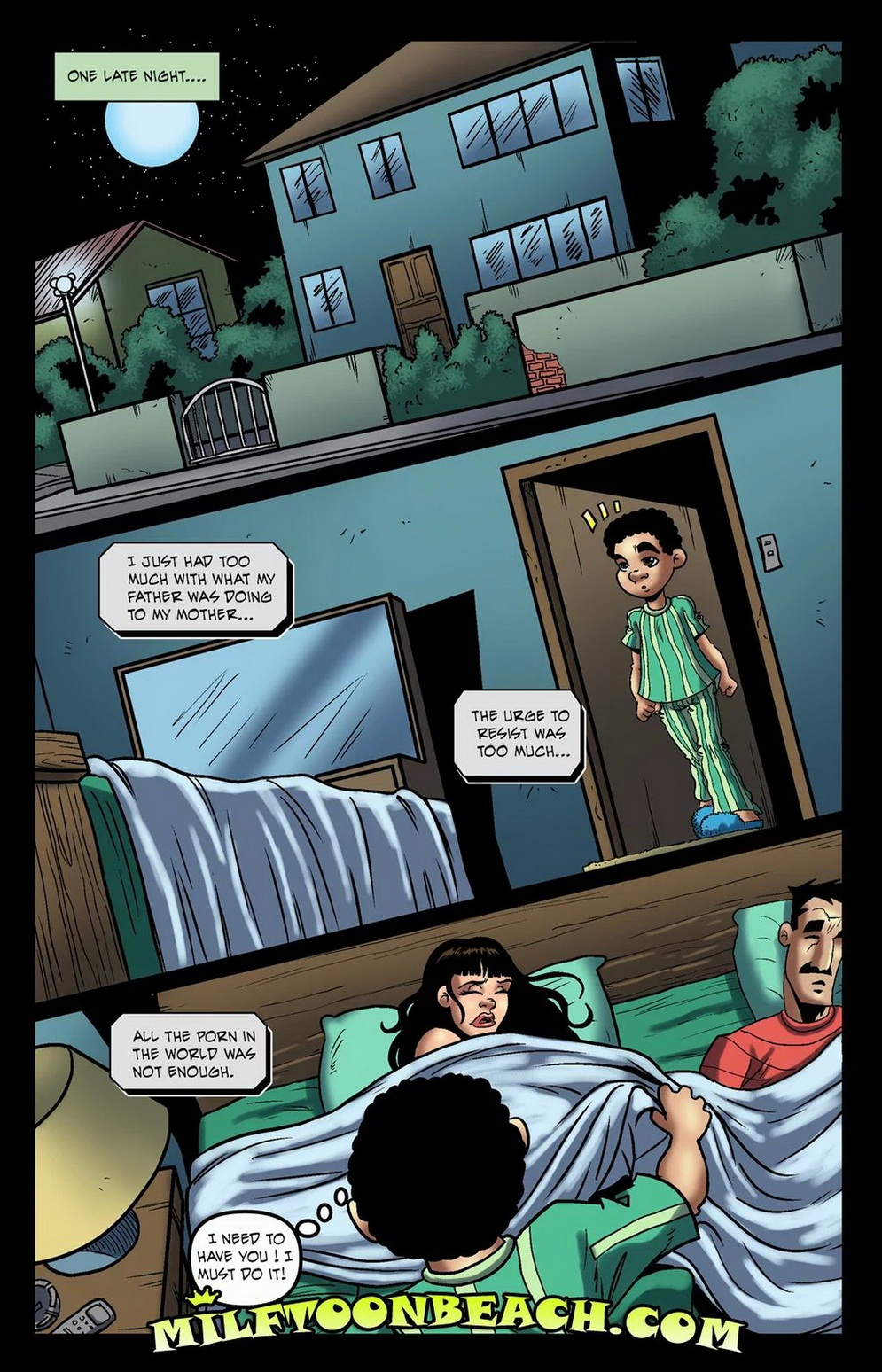Sex comic of mom