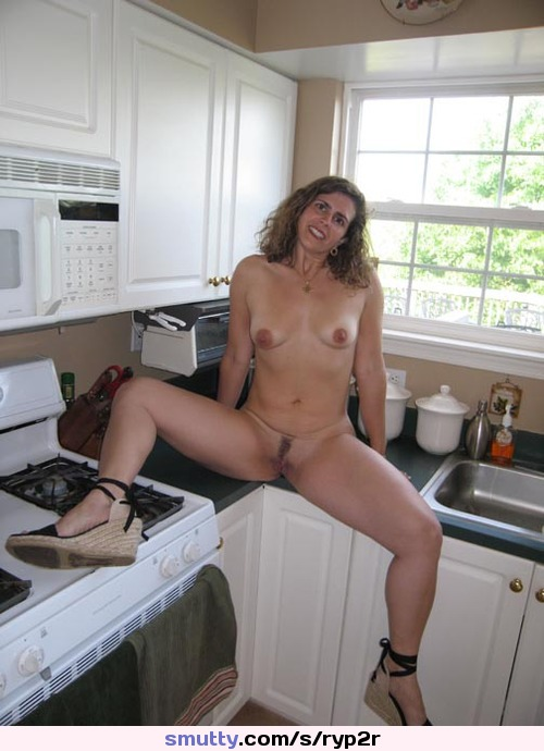 Nude moms kitchen homemade