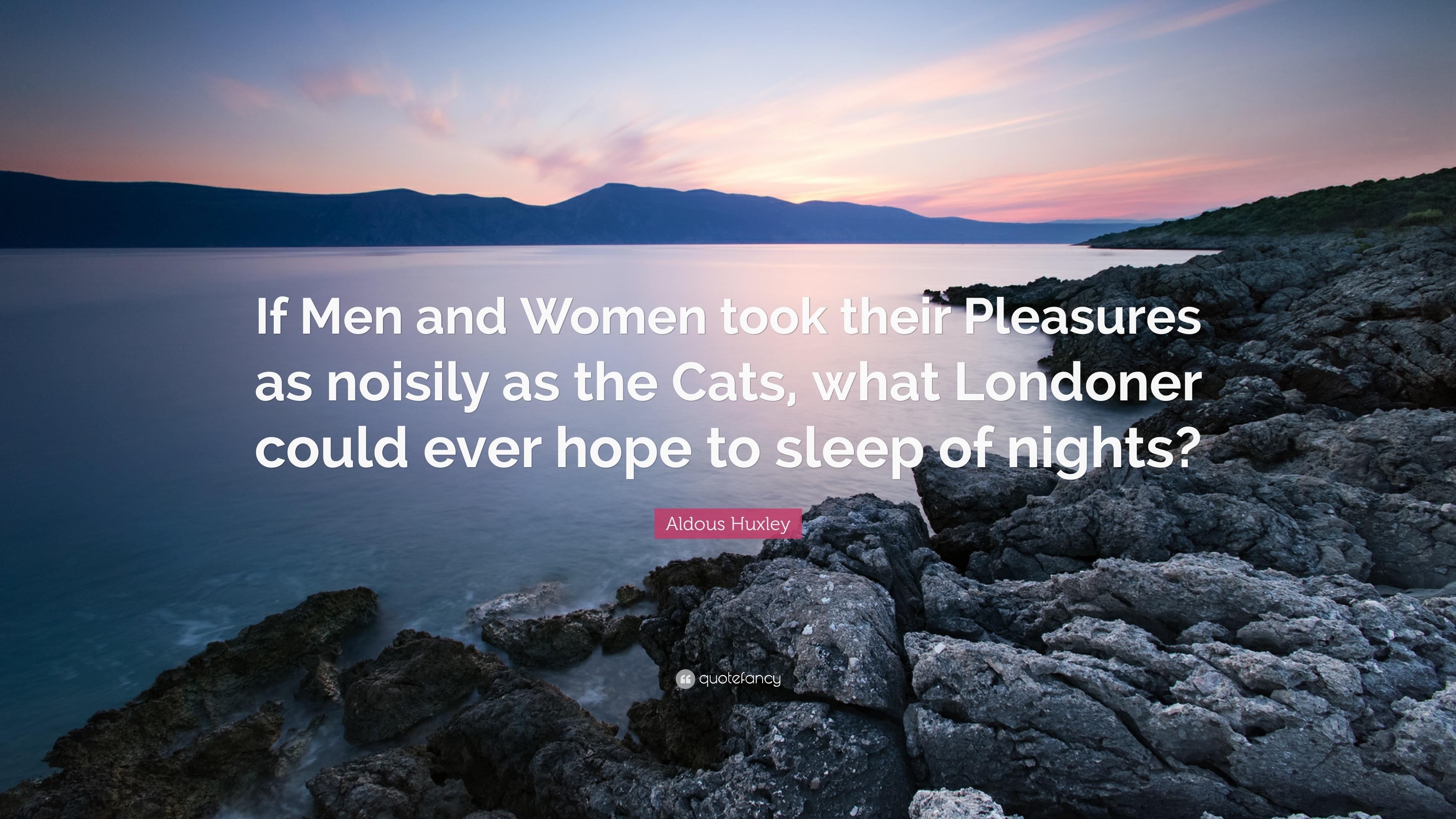 Women are a pleasure tolstoy quote