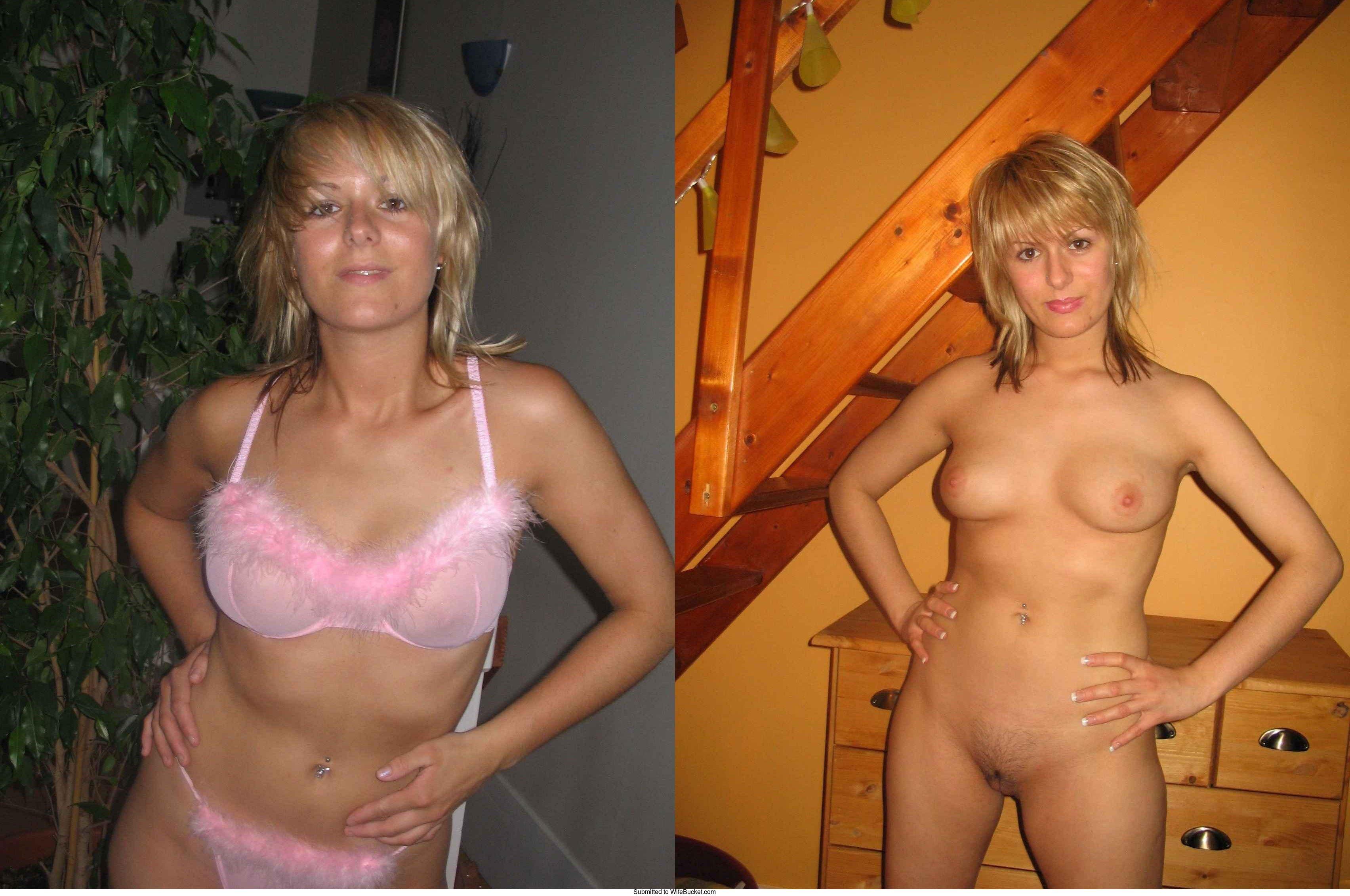 Dressed undressed clothed unclothed amateur