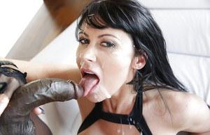 Rebecca blue sucking cock