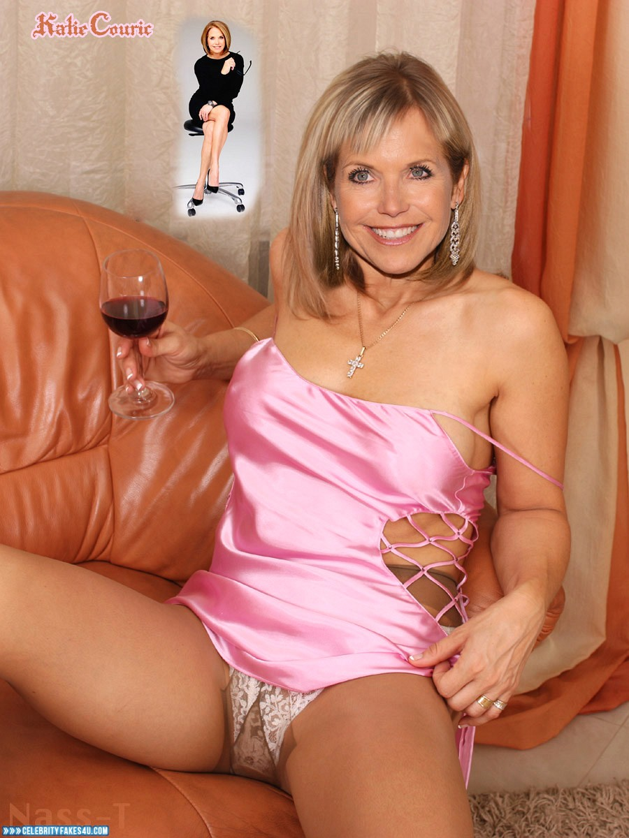 Nude celebrity fakes katie couric
