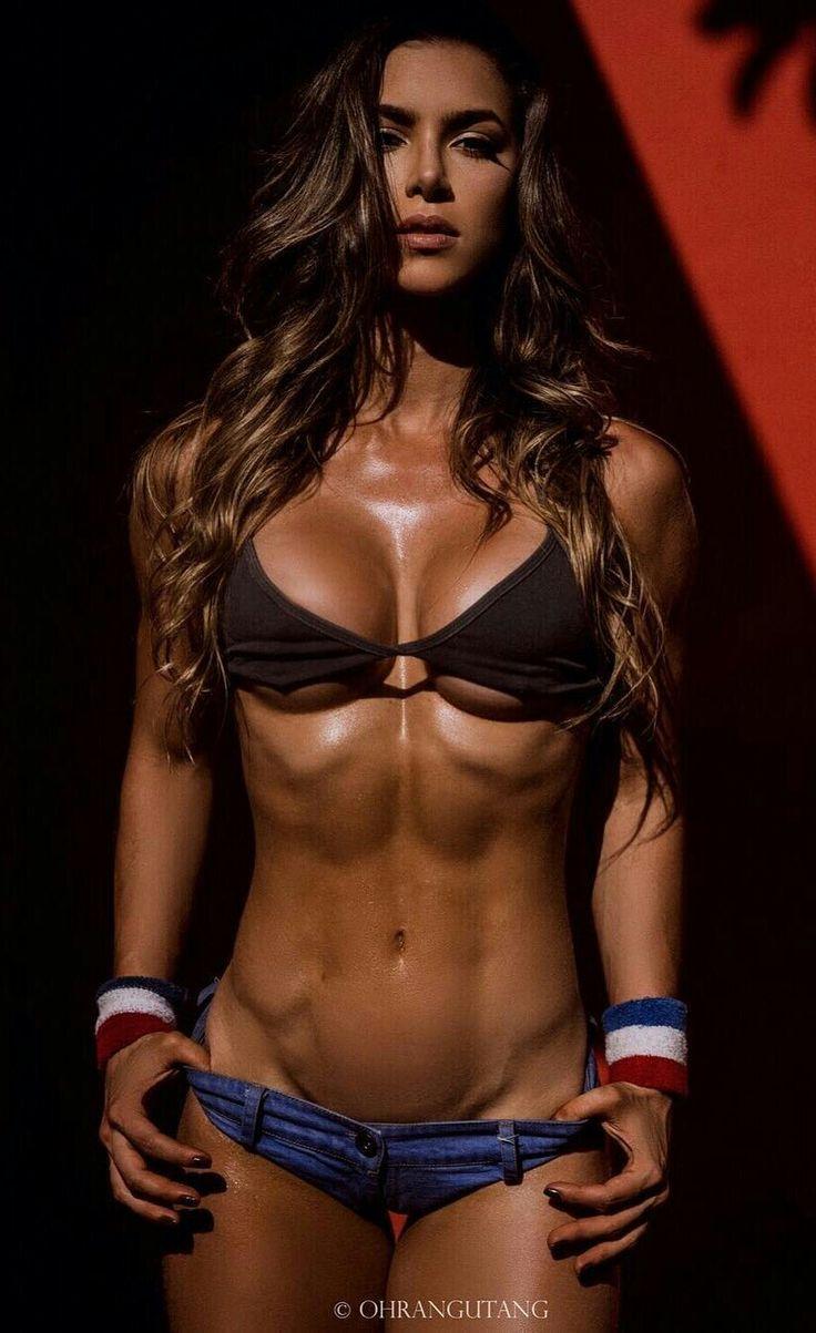 Hot sexy pronstar women gym