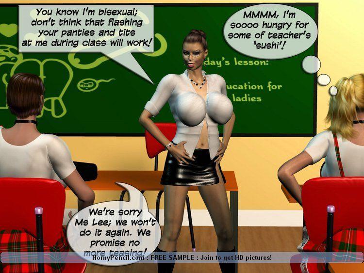 Students busty xxx comics