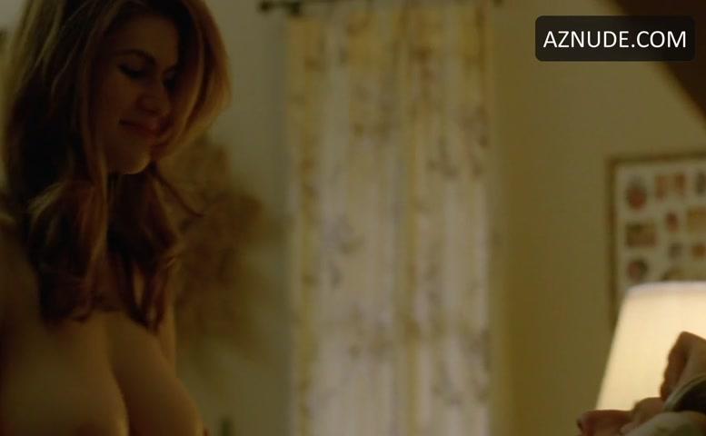 Alexandra daddario naked true detective