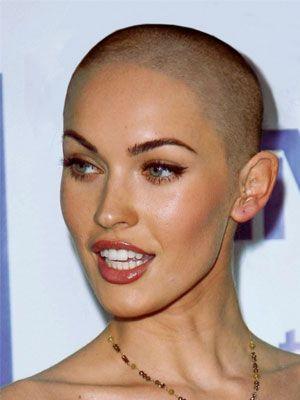 Bald women celebrities naked