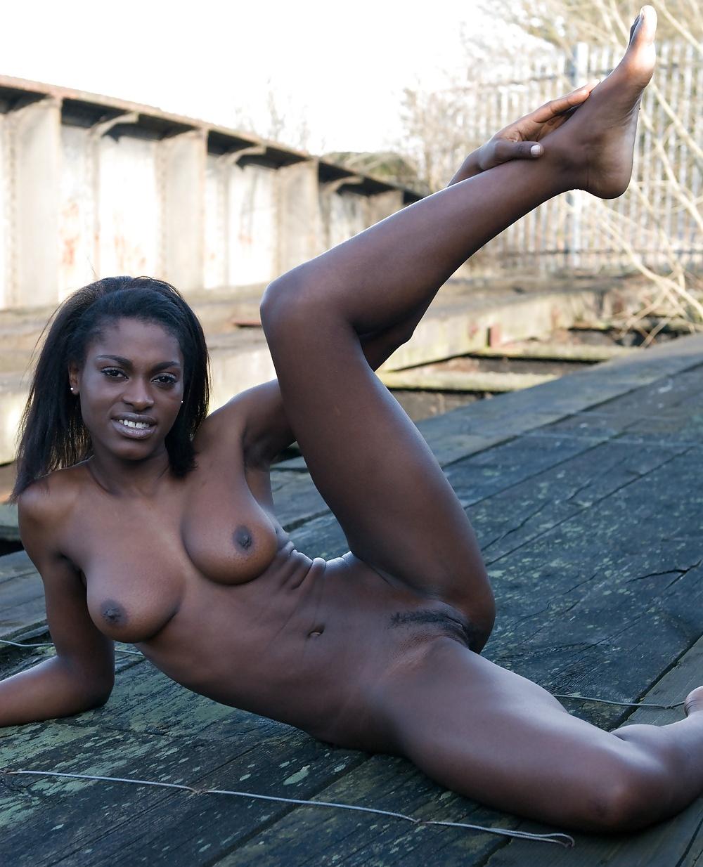 Hot sexy ebony black girls nude