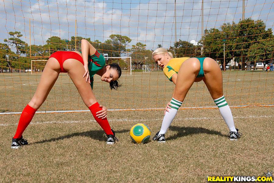 Hot lesbian soccer porn