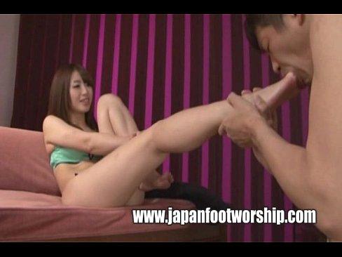 Lesbian japanese foot fetish videos