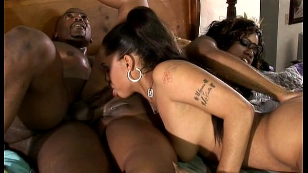 Jazmine cashmere anal threesome