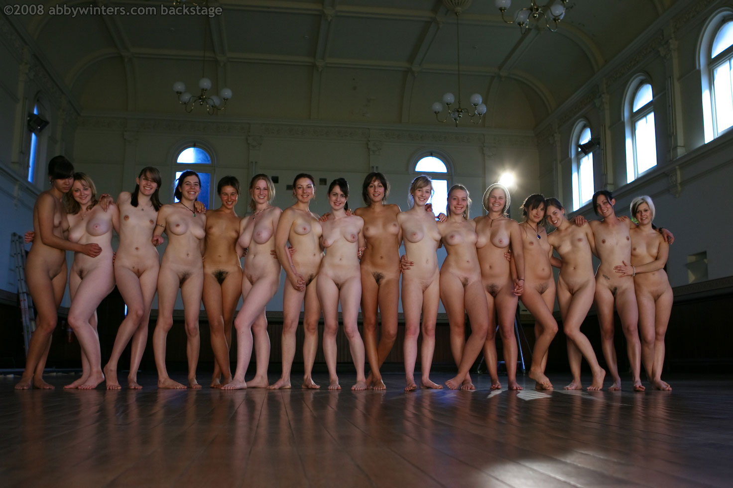 Winters girls abby yoga Nude Girls: