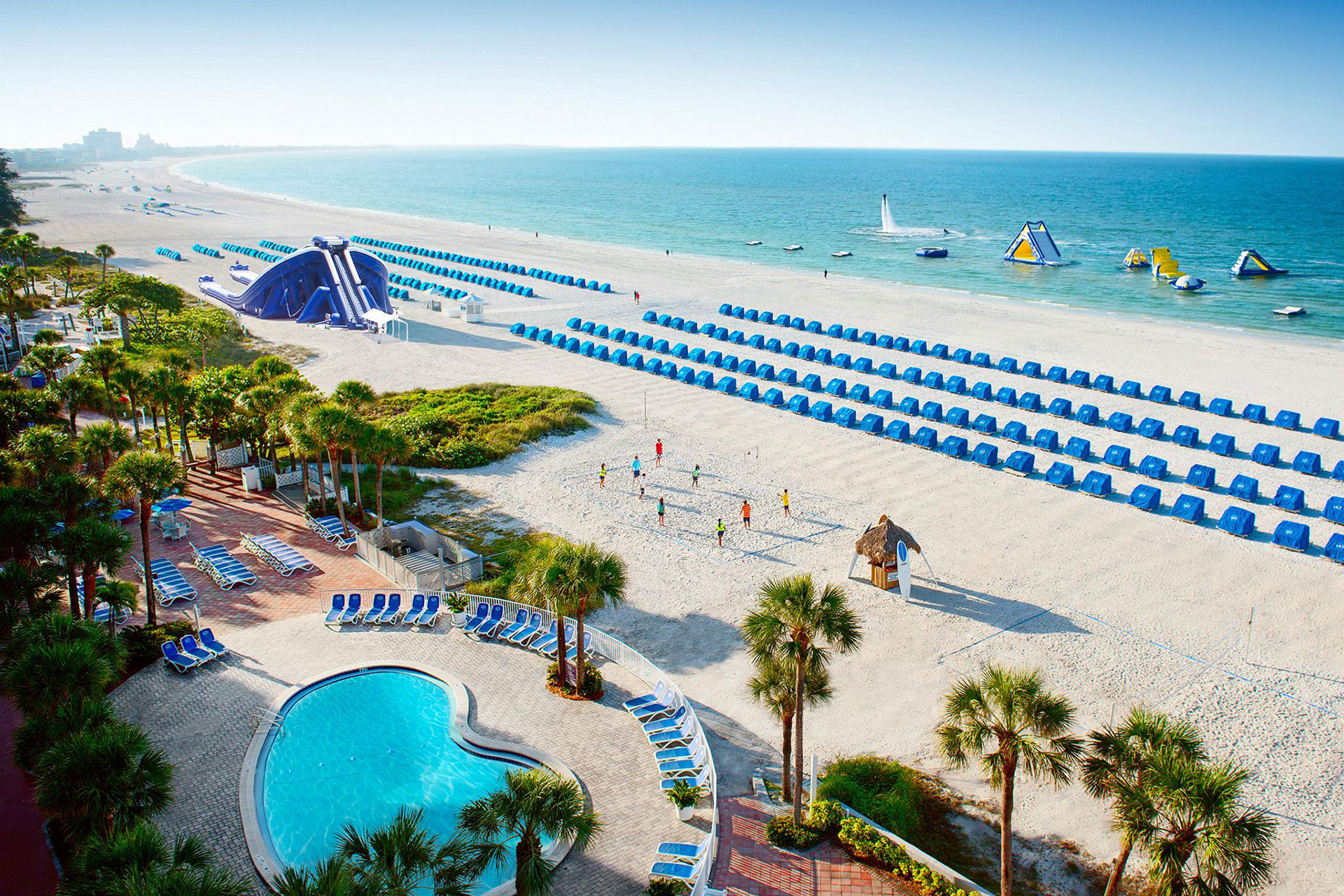 Florida adult beach resort