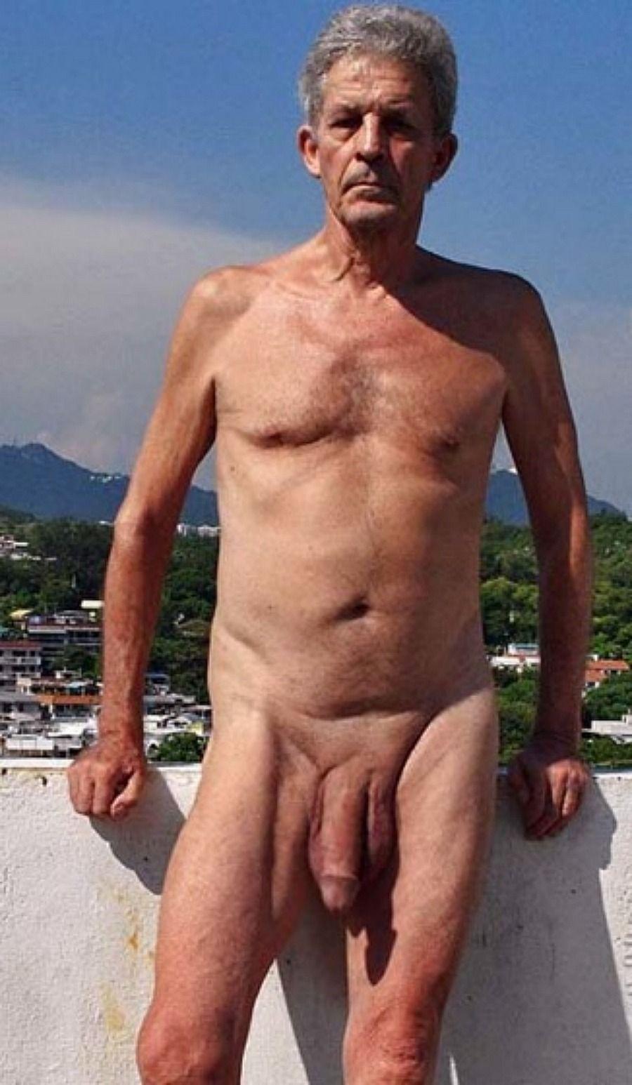 Old man big dick nudes