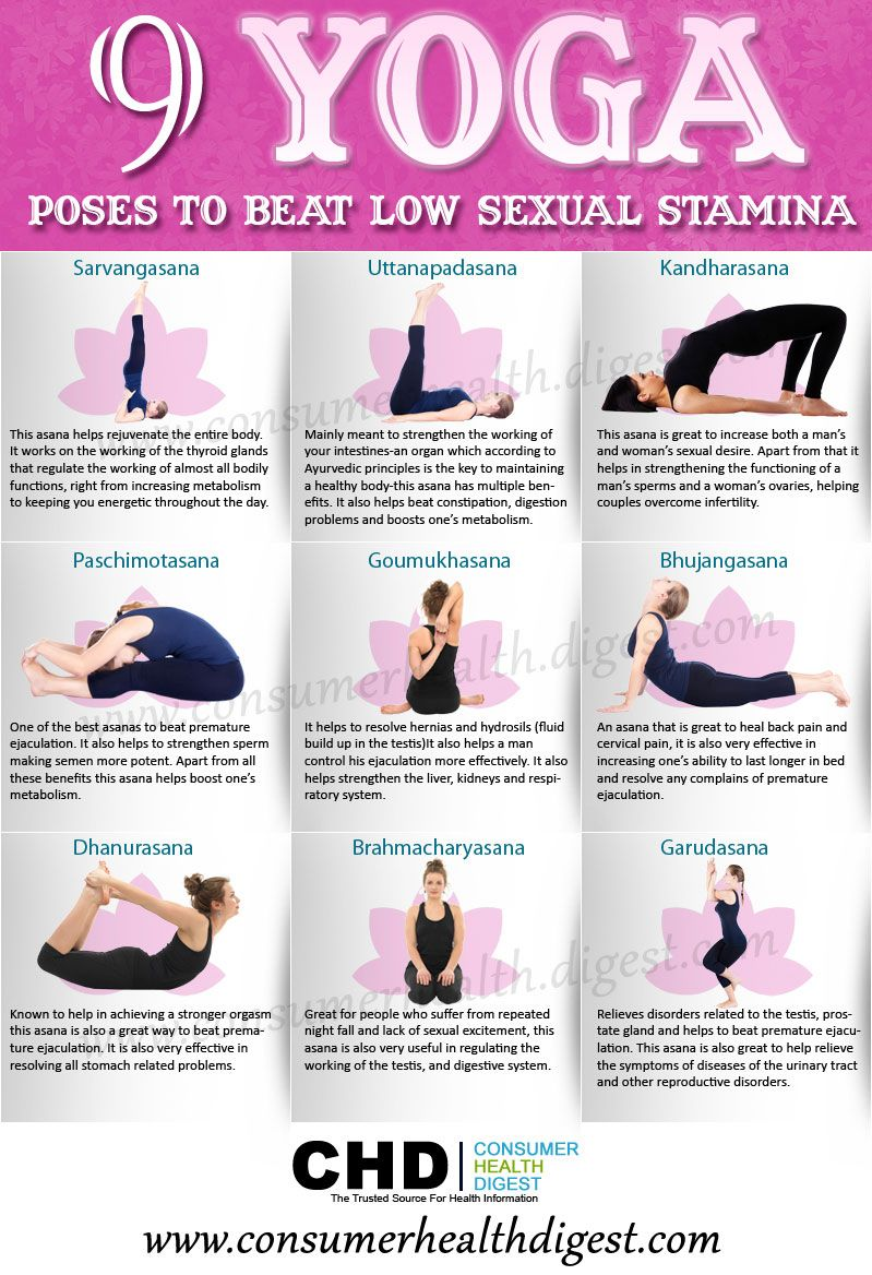 Yoga positions for sex