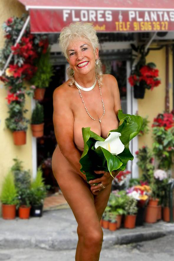 Naked granny sarah uk