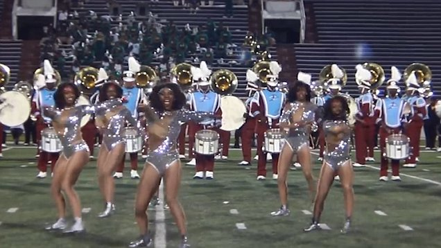 Marching band girls naked