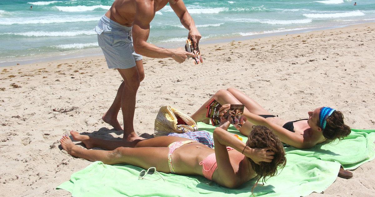 Miami beach fat nudes