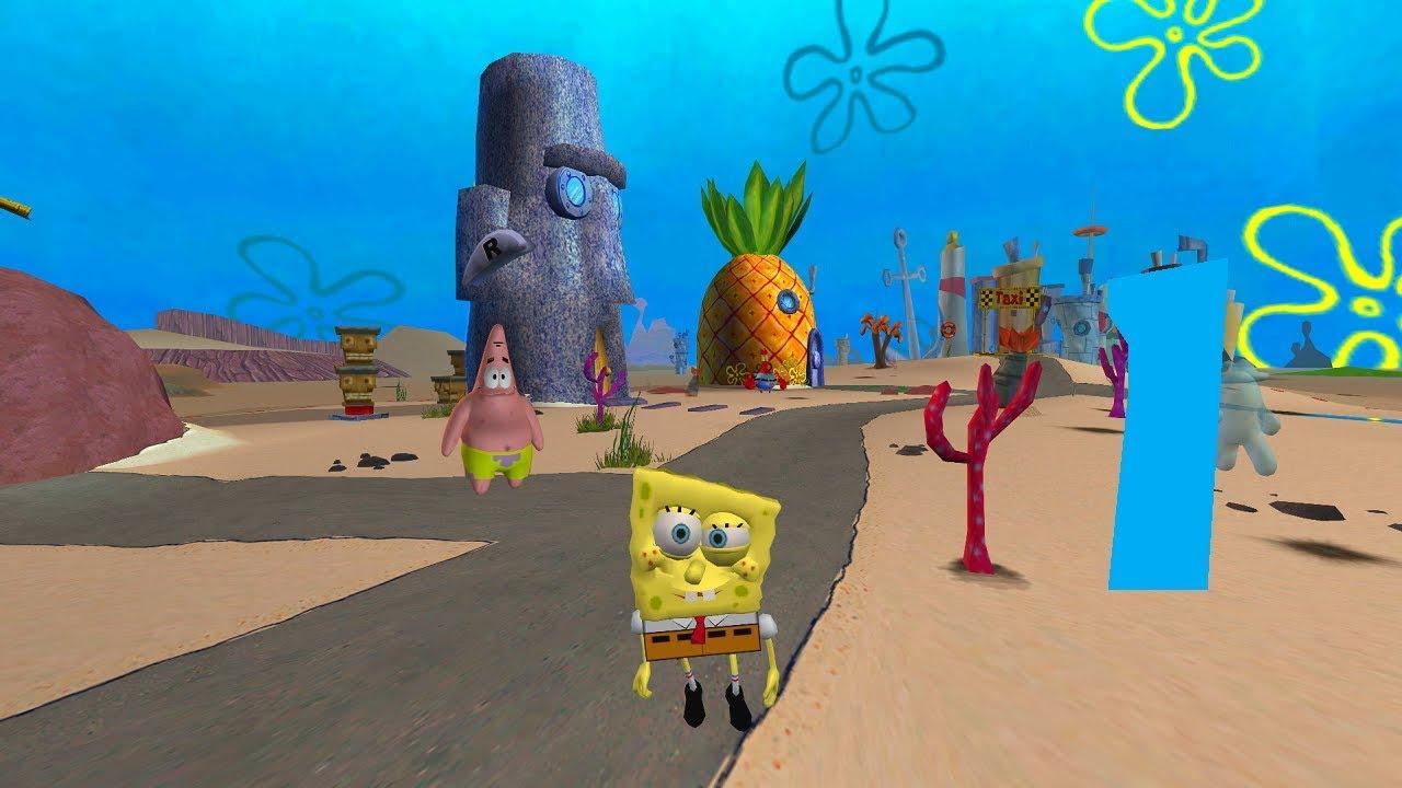 Spongebob batle for bikini