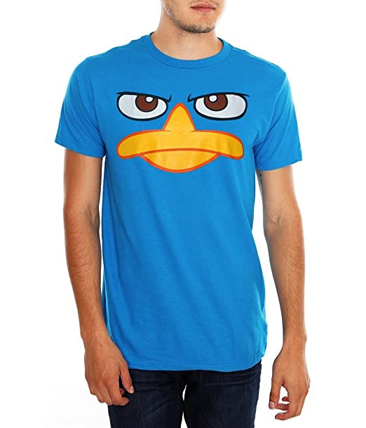 Adult phineas and ferb shirt