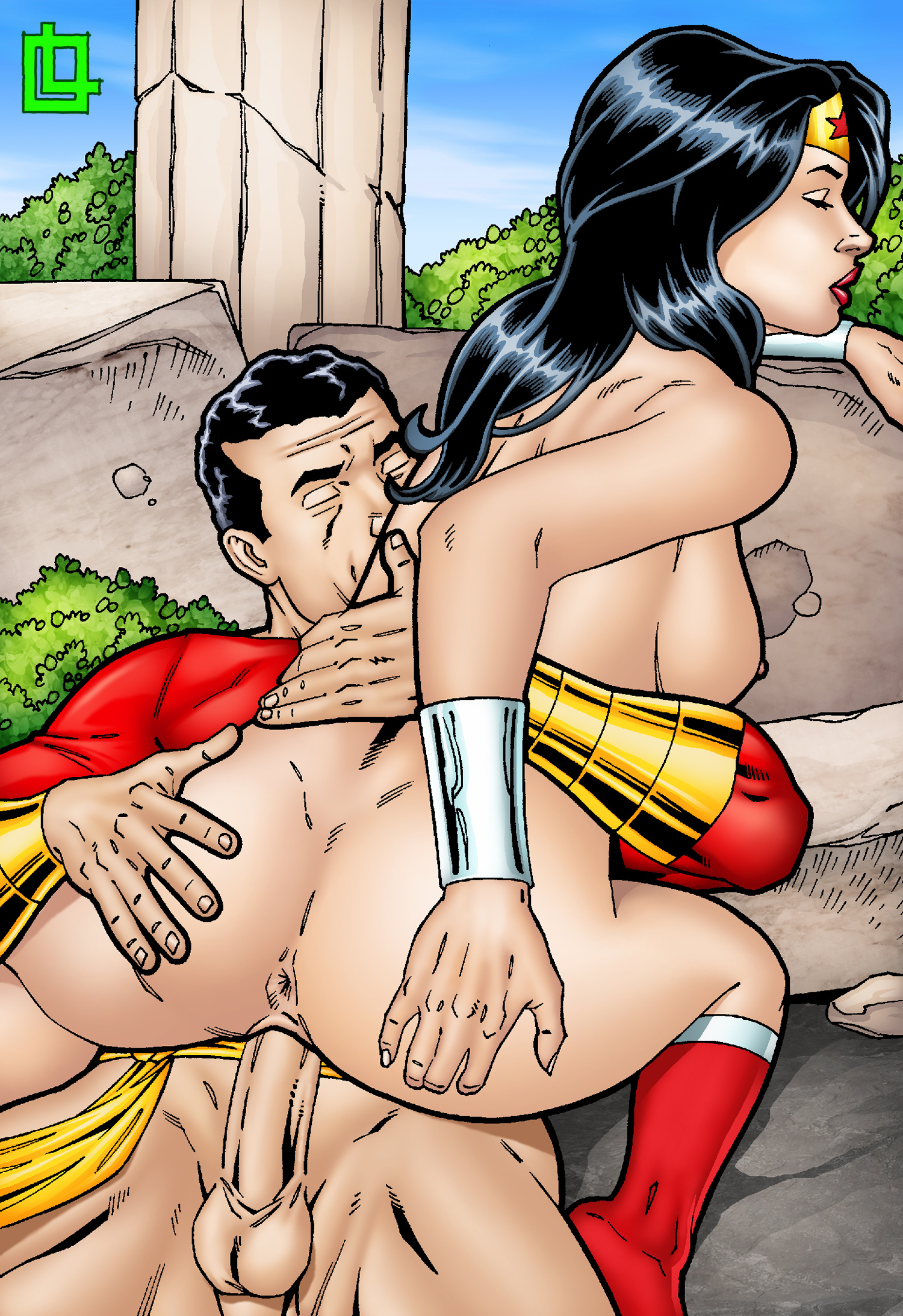 Dc comics wonder woman porn