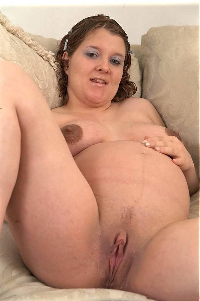 Black pregnant lady pussy