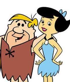 Betty rubble cartoon character