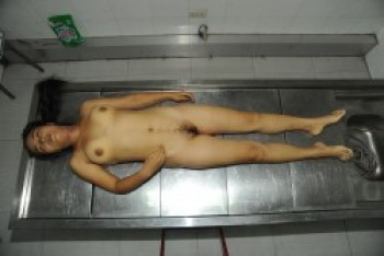 Chinese dead girl morgue