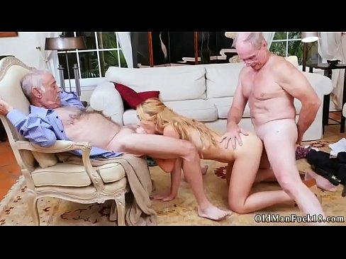 Dirty old man fucks girl