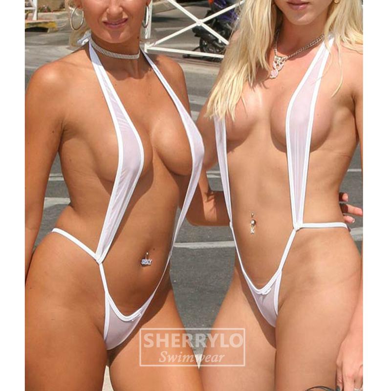 Thong g string sling shot bikini