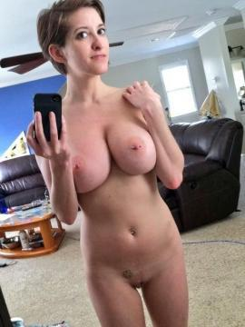 Nude busty gf melons
