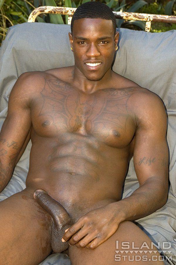 Black beautiful nude men