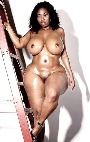 Naked big black tite