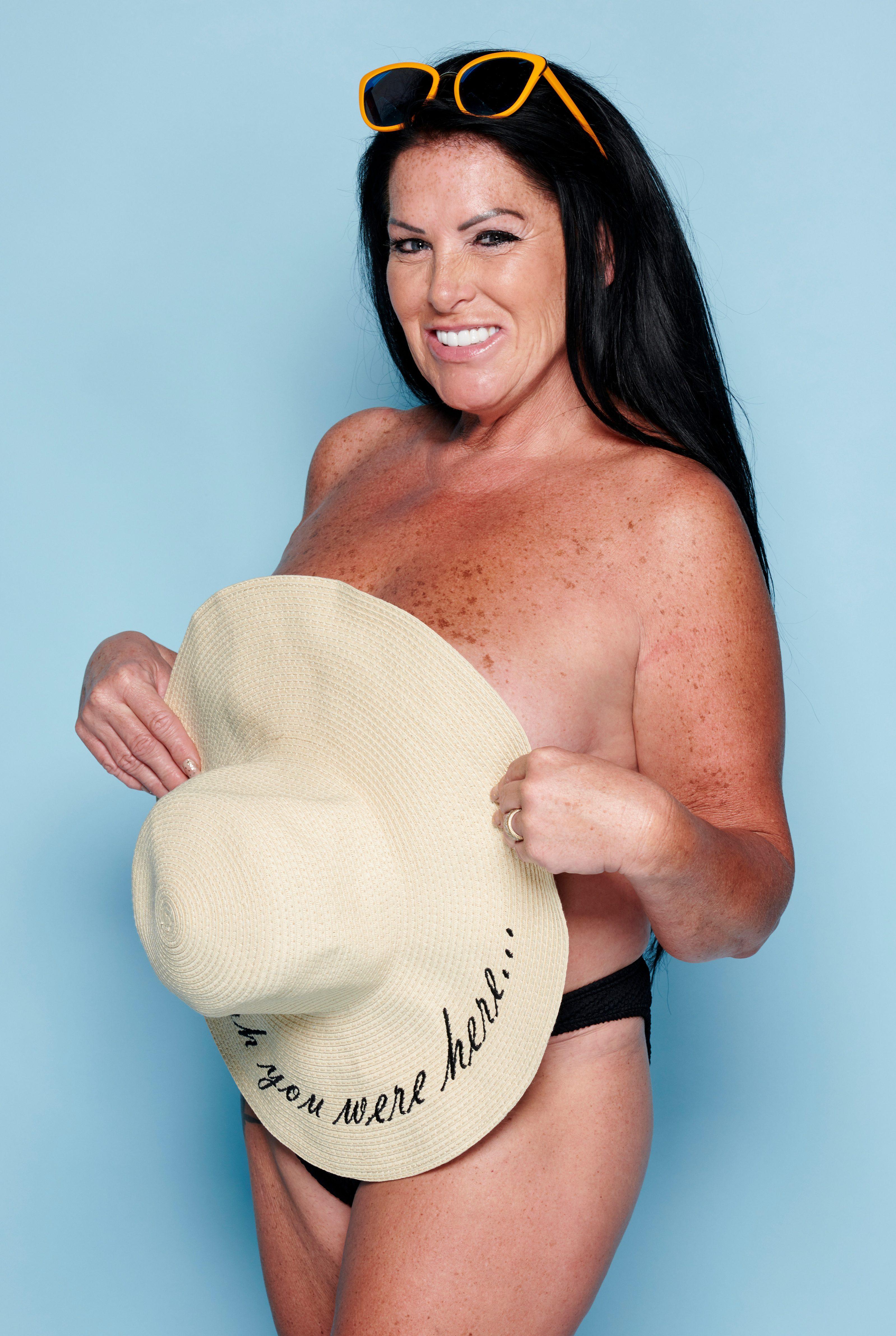 Big boobs nudist beach pageant