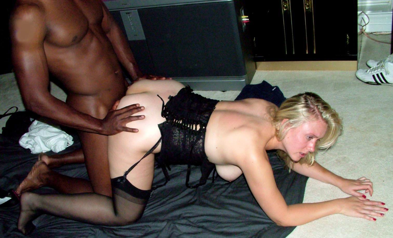 Cuckold wife slut screw interracial