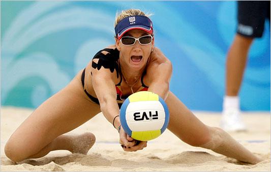 Kinesio tape olympic volleyball women