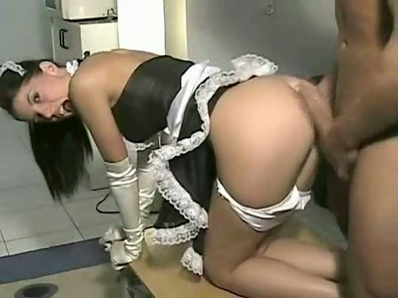 Naughty french maid sex