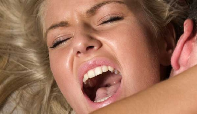 Black girl crying during sex