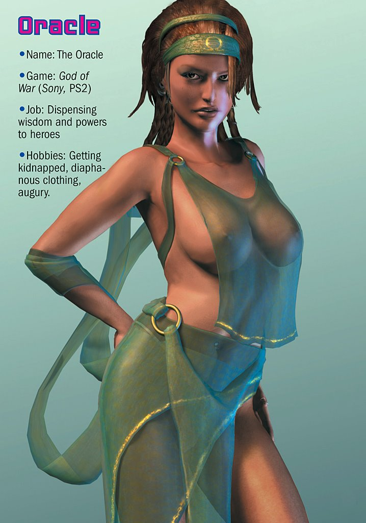 Playboy video game girls nude